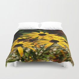 Backed Eyed Susan In Autumn Duvet Cover