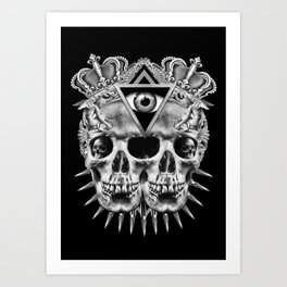 VISION II Art Print