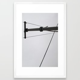 Wires In abstract 1 Framed Art Print
