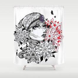 Flower of Life Gypsy Shower Curtain