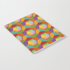 Geometric Rainbow (smaller scale) Notebook