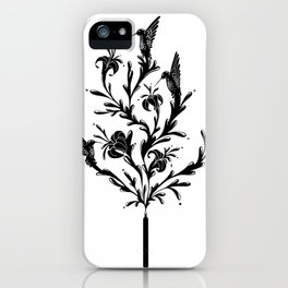 Fluid Bloom iPhone Case