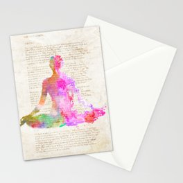Yoga book Stationery Cards