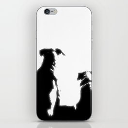 even dogs fall in love iPhone Skin