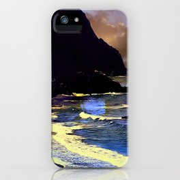 Gold Beach On The Oregon Coast iPhone Case