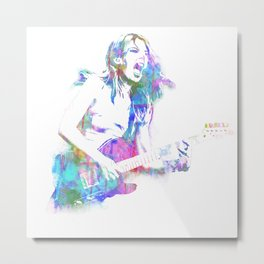 Ellie Watercolour Metal Print