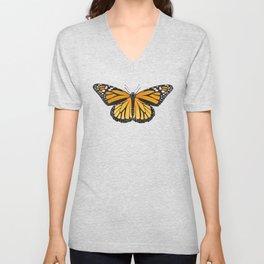Monarch Butterfly Love Unisex V-Neck