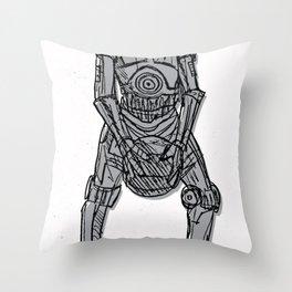 C-3-Free Throw! Throw Pillow