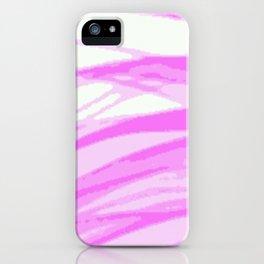 Fuchsia Blur iPhone Case