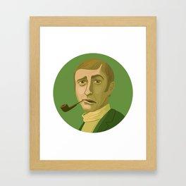 Queer Portrait - Graham Chapman Framed Art Print