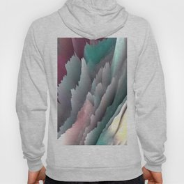 Jagged Jasper Mountains - Abstract Art by Fluid Nature Hoody