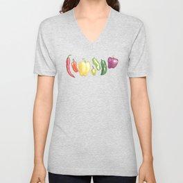 Pepper Rainbow Unisex V-Neck