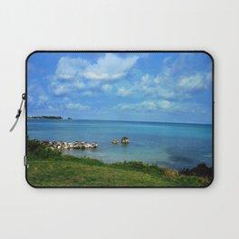 Island of Bermuda Laptop Sleeve