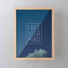 Free Your Mind II Framed Mini Art Print