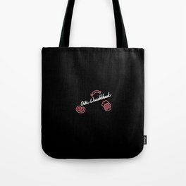 Oide Wurschthaut   [black & white] Tote Bag