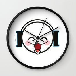 Luka Space Smiling Wall Clock