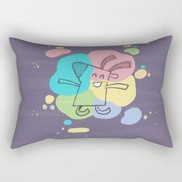 Color Dream Rectangular Pillow