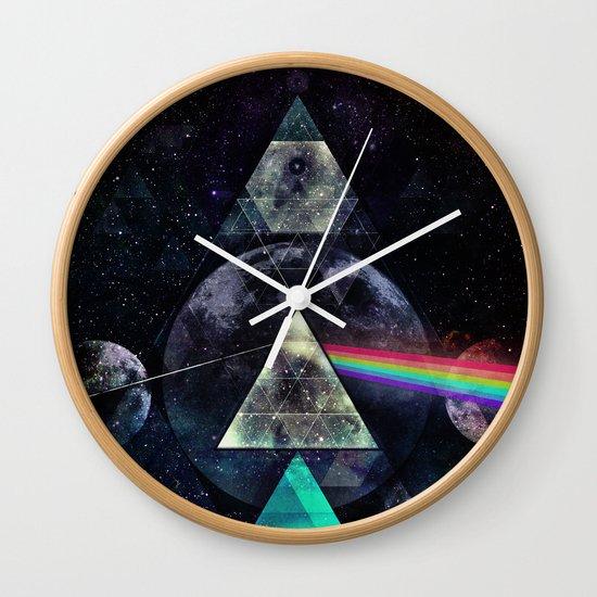 LYYT SYYD ºF TH' MYYN Wall Clock