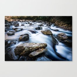 Take Me to the River - Rushing Rapids in the Great Smoky Mountains Canvas Print