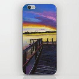 Shelley Bridge Sunset iPhone Skin