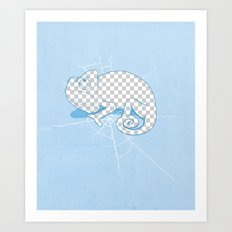 Transparent mode on Art Print