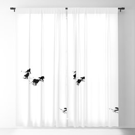 snowblinded // (wolf pack) Blackout Curtain