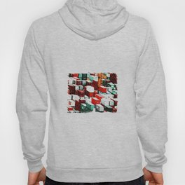 Mint Red Shipping Containers  Hoody