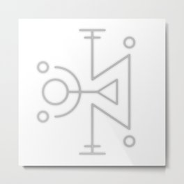 Sigil: Avaldarr (Astral Traveling, Astral energy) Metal Print