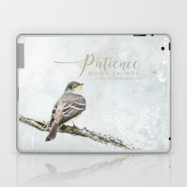Patience Laptop & iPad Skin