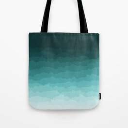 Blue Ombre Tote Bag