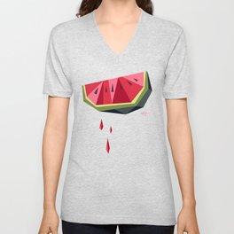 Edgy Watermelon Unisex V-Neck
