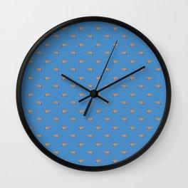 Jerseys // Teal Sprinkles // Blue Wall Clock