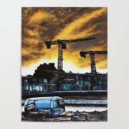 Berlin Real Estate Poster