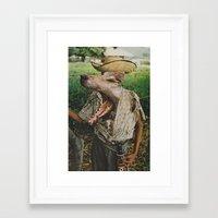 werewolf Framed Art Prints featuring Werewolf by A.T. Velazco