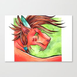 Red XIII Canvas Print