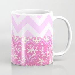 chevron and frieze Coffee Mug