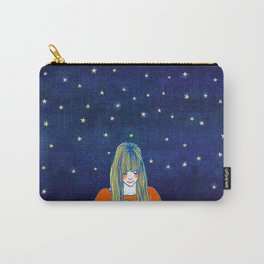 Girls in blue Carry-All Pouch