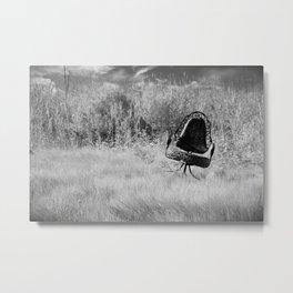 Wild Chair Metal Print