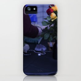 Edgy Roses iPhone Case
