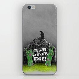 Rock & Roll Never die! iPhone Skin
