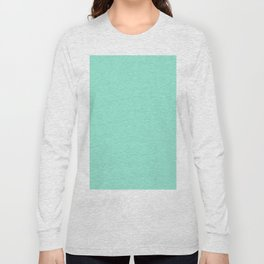 Simply Pure Turquoise Long Sleeve T-shirt