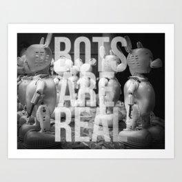 BOTS AR Art Print