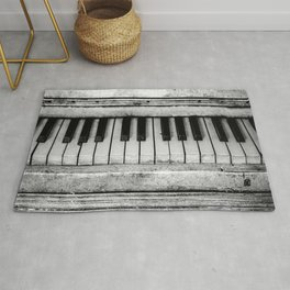 The piano Rug