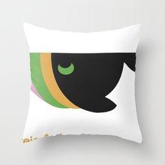 freie farben Throw Pillow