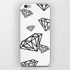 parachute diamonds iPhone & iPod Skin
