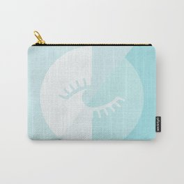 LOOK AT ME BLUE Carry-All Pouch