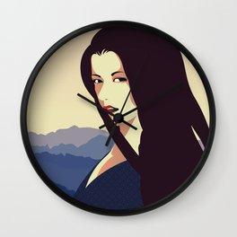 Girl Retro Style 10 Wall Clock