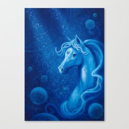 AquaDreamer Canvas Print