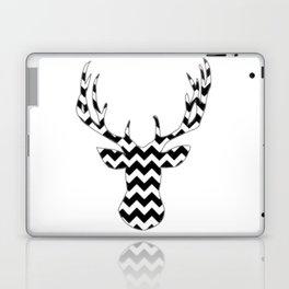 Zig Zag Modern Deer Head Laptop & iPad Skin