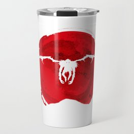 Red ryuk death note shinigami Travel Mug